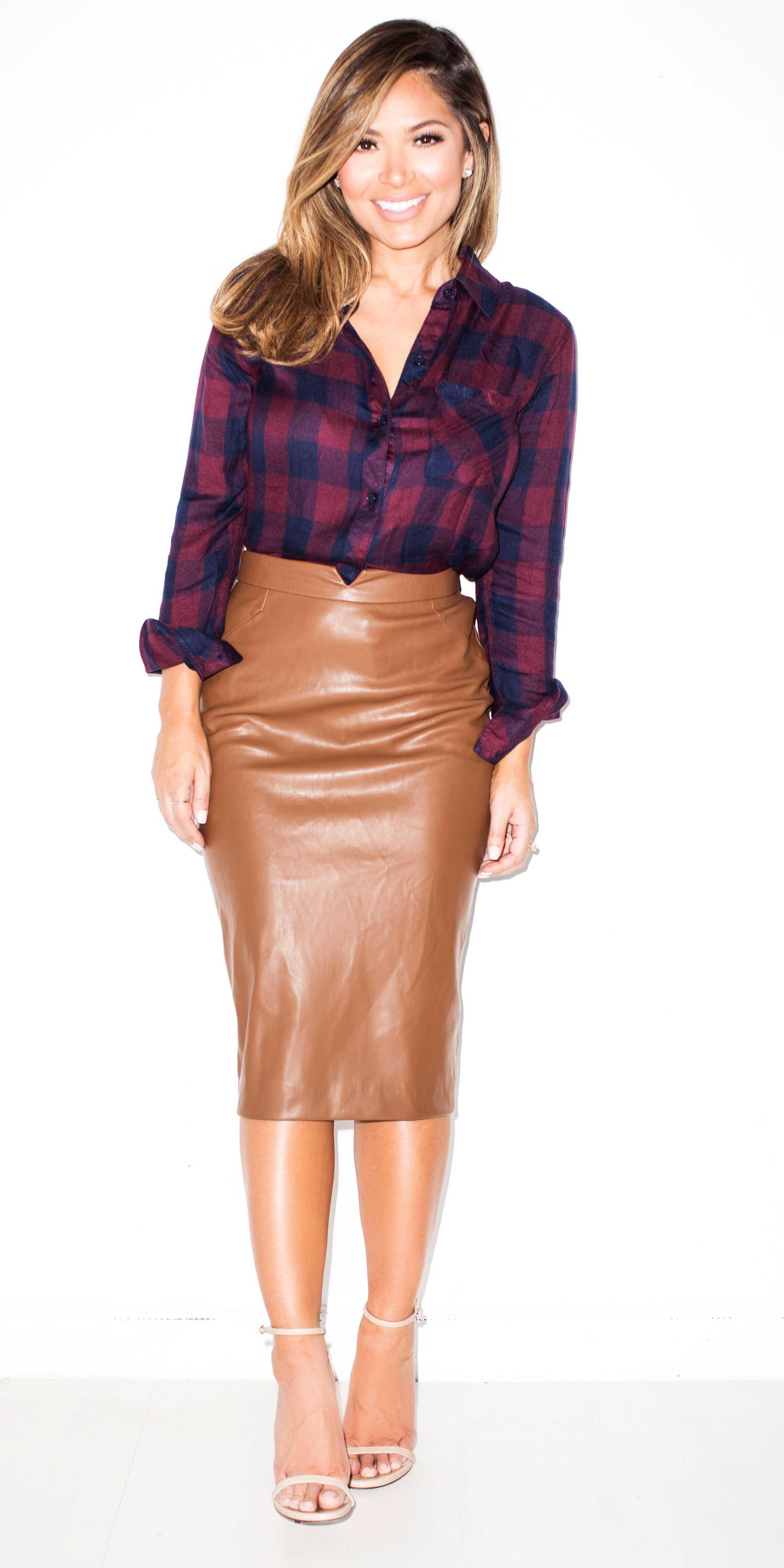 camel-pencil-skirt-leather-burgundy-plaid-shirt-fall-winter-hairr-lunch.jpg