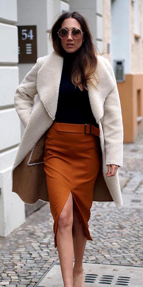 camel-pencil-skirt-black-sweater-turtleneck-white-jacket-coat-fall-winter-hairr-lunch.jpg