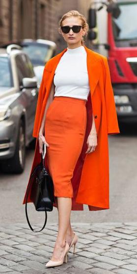 orange-pencil-skirt-white-top-orange-jacket-coat-black-bag-bun-tan-shoe-pumps-spring-summer-blonde-work.jpg