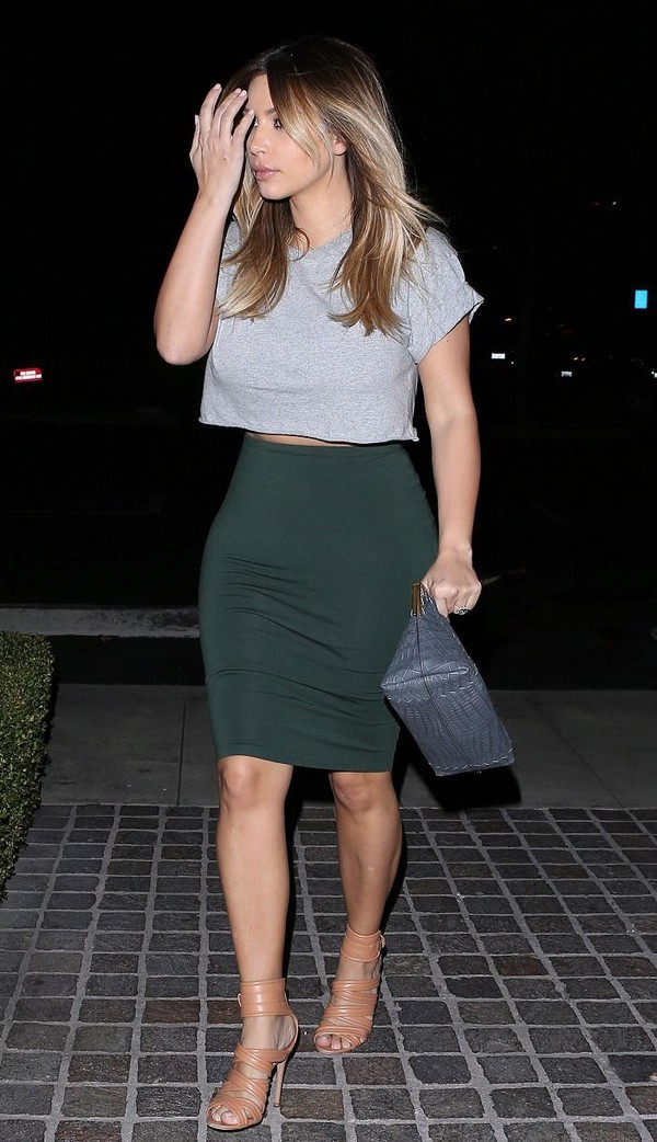 db1c81b21 Dark green pencil skirts | HOWTOWEAR Fashion