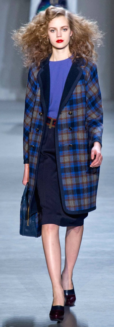 blue-navy-pencil-skirt-blue-med-sweater-howtowear-style-fashion-fall-winter-blue-navy-jacket-coat-plaid-mono-outfit-brown-shoe-pumps-blue-bag-hand-runway-hairr-work.jpg