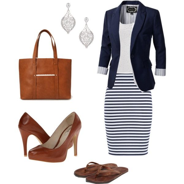 blue-navy-pencil-skirt-white-tee-howtowear-fashion-style-outfit-spring-summer-stripe-blue-navy-jacket-blazer-earrings-cognac-shoe-pumps-cognac-bag-tote-work.jpg