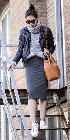 grayd-pencil-skirt-grayl-sweater-black-jacket-moto-cognac-bag-sun-bun-howtowear-fashion-style-outfit-fall-winter-knit-white-shoe-sneakers-turtleneck-casual-brun-weekend.jpg
