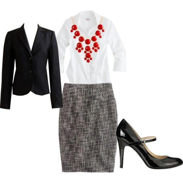 grayd-pencil-skirt-white-collared-shirt-black-shoe-pumps-black-jacket-blazer-bib-necklace-howtowear-fashion-style-outfit-fall-winter-work.jpg