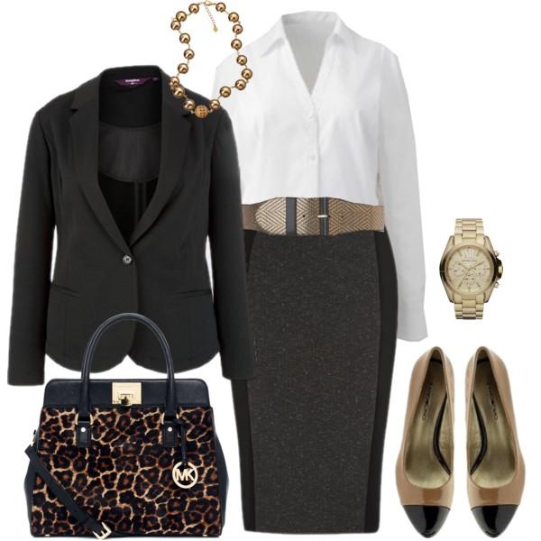 grayd-pencil-skirt-white-collared-shirt-brown-bag-howtowear-fashion-style-outfit-fall-winter-wide-belt-black-jacket-blazer-leopard-necklace-watch-cognac-shoe-pumps-work.jpg