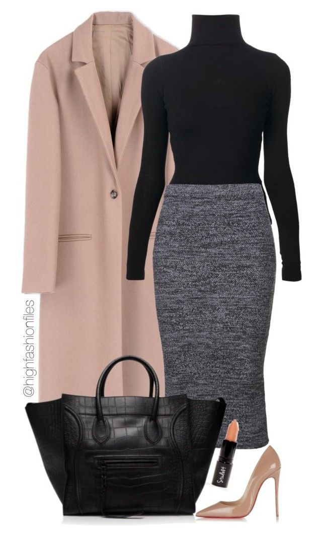 grayd-pencil-skirt-black-sweater-pink-light-jacket-coat-black-bag-tote-howtowear-fashion-style-outfit-fall-winter-turtleneck-basic-tan-shoe-pumps-work.jpg