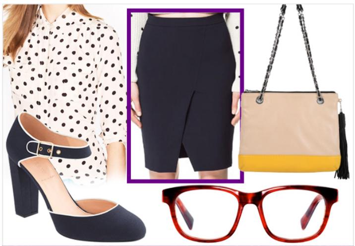 black-pencil-skirt-white-top-blouse-dot-tan-bag-black-shoe-pumps-howtowear-style-fashion-fall-winter-anklestrap-work.jpg