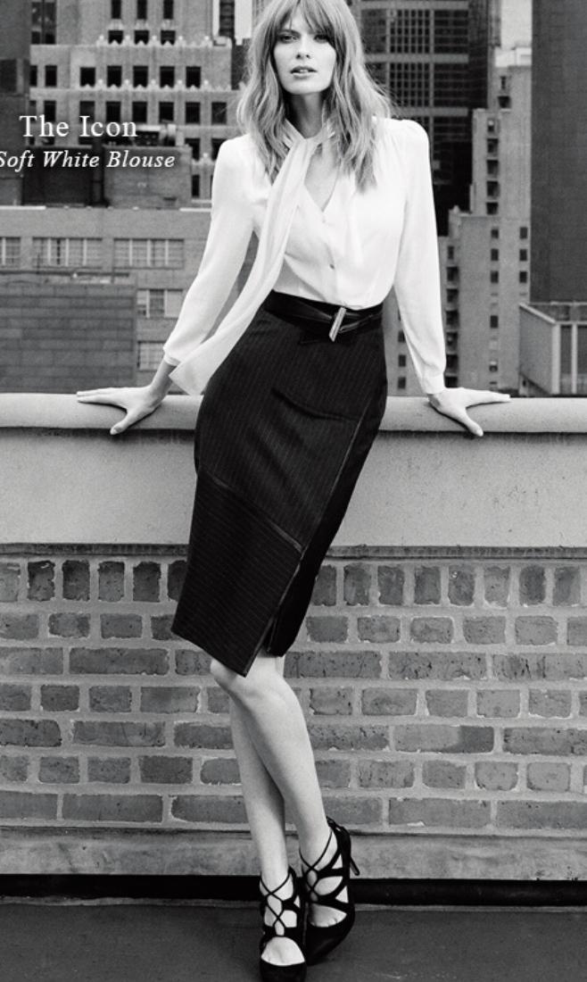 black-pencil-skirt-white-top-blouse-bow-black-shoe-pumps-howtowear-style-fashion-fall-winter-whbm-tieneck-hairr-work.jpg