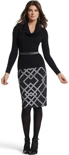 black-pencil-skirt-black-sweater-howtowear-fashion-style-outfit-fall-winter-cowl-skinny-belt-black-tights-black-shoe-pumps-anklestrap-earrings-print-brun-work.jpg