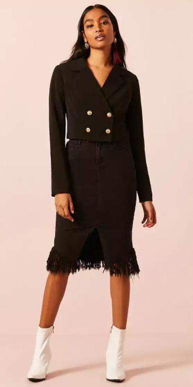 black-pencil-skirt-black-jacket-blazer-crop-earrings-brun-white-shoe-booties-fall-winter-dinner.jpg