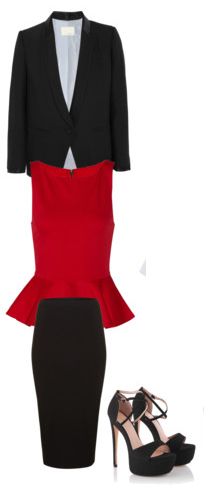 black-pencil-skirt-red-top-blouse-peplum-black-jacket-blazer-black-shoe-sandalh-howtowear-fashion-style-outfit-fall-winter-office-work.jpg