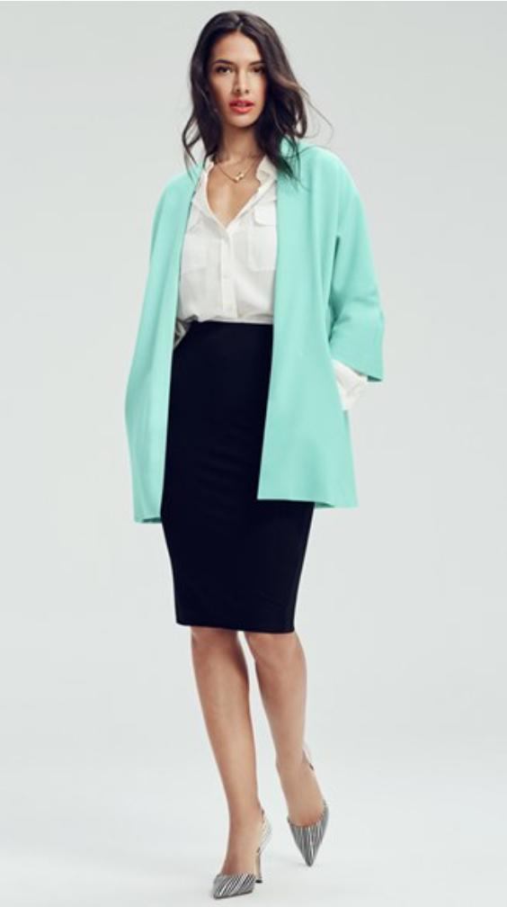 black-pencil-skirt-white-collared-shirt-necklace-gray-shoe-pumps-howtowear-style-fashion-fall-winter-aqua-green-light-cardiganl-brun-work.jpg
