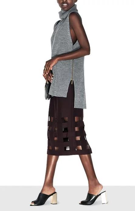 burgundy-midi-skirt-grayl-sweater-sleeveless-black-shoe-sandalh-mules-fall-winter-lunch.jpg