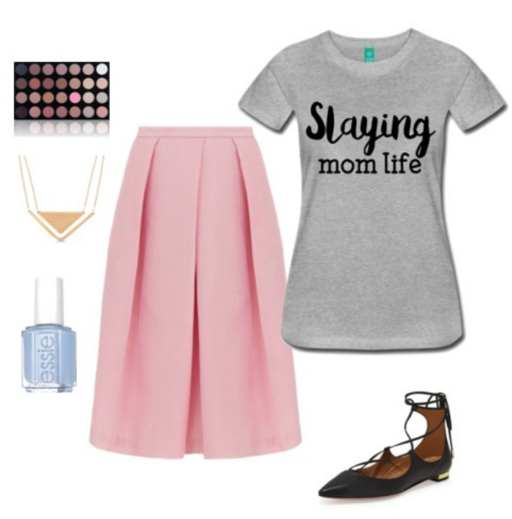 pink-light-midi-skirt-grayl-graphic-tee-necklace-nail-black-shoe-flats-slayingmomlife-spring-summer-lunch.jpg