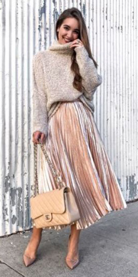 pink-light-midi-skirt-velvet-pleat-tan-sweater-tan-bag-hairr-tan-shoe-pumps-fall-winter-dinner.jpg