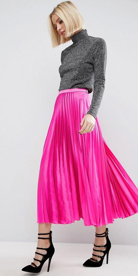 pink-magenta-midi-skirt-pleated-black-shoe-pumps-strappy-grayd-top-turtleneck-fall-winter-blonde-dinner.jpg