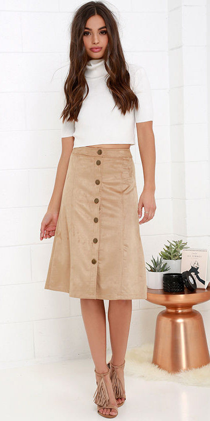 tan-midi-skirt-suede-white-sweater-button-tan-shoe-sandalh-fall-winter-brun-lunch.jpg