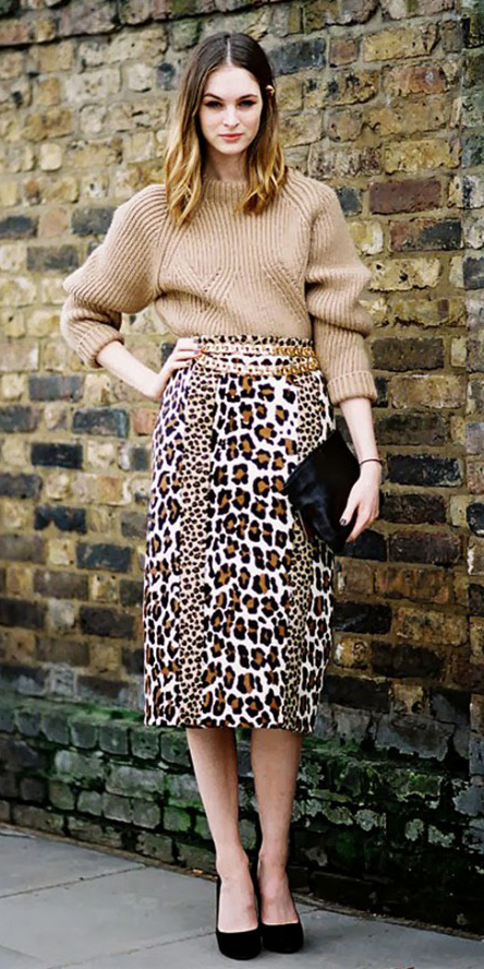 tan-midi-skirt-leopard-print-belt-tan-sweater-black-bag-clutch-black-shoe-pumps-hairr-fall-winter-dinner.jpg