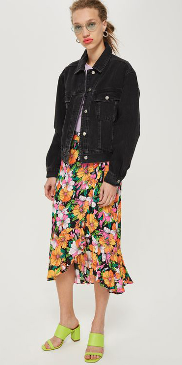 orange-midi-skirt-floral-print-green-shoe-sandalh-black-jacket-jean-hairr-bun-spring-summer-lunch.jpg