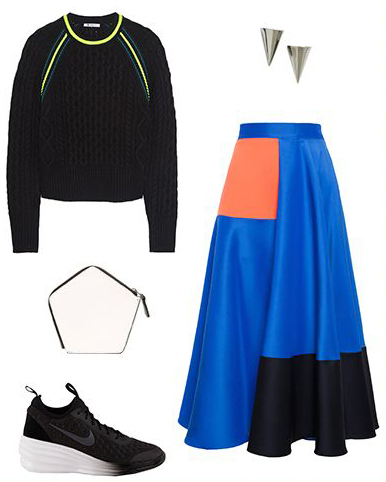 blue-med-midi-skirt-black-sweater-studs-black-shoe-sneakers-cobalt-howtowear-fashion-style-outfit-spring-summer-lunch.jpg