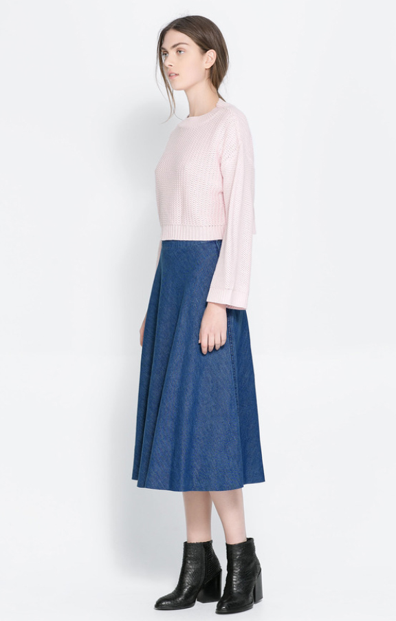 blue-med-midi-skirt-r-pink-light-sweater-pony-wear-outfit-fall-winter-black-shoe-booties-hairr-lunch.jpg