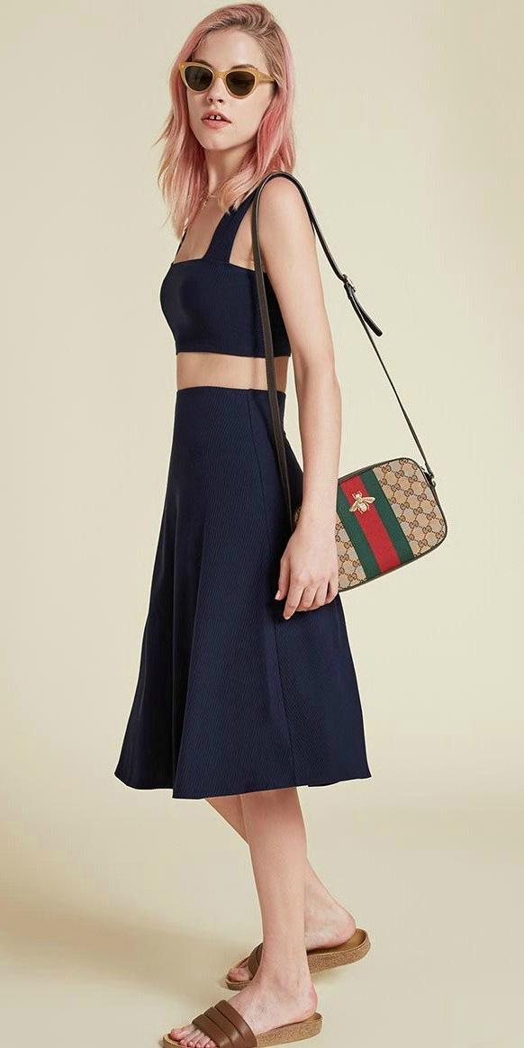 blue-navy-midi-skirt-blue-navy-crop-top-matchset-tan-bag-sun-brown-shoe-sandals-spring-summer-weekend.jpg