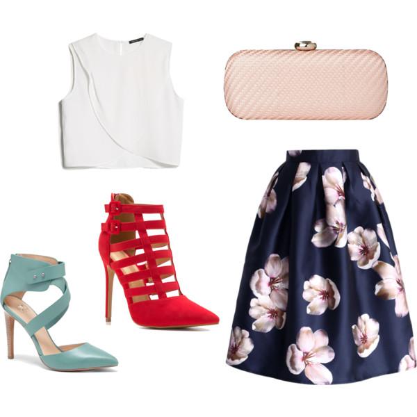 blue-navy-midi-skirt-white-top-crop-wear-outfit-spring-summer-red-shoe-sandalh-floral-tan-bag-clutch-dinner.jpg