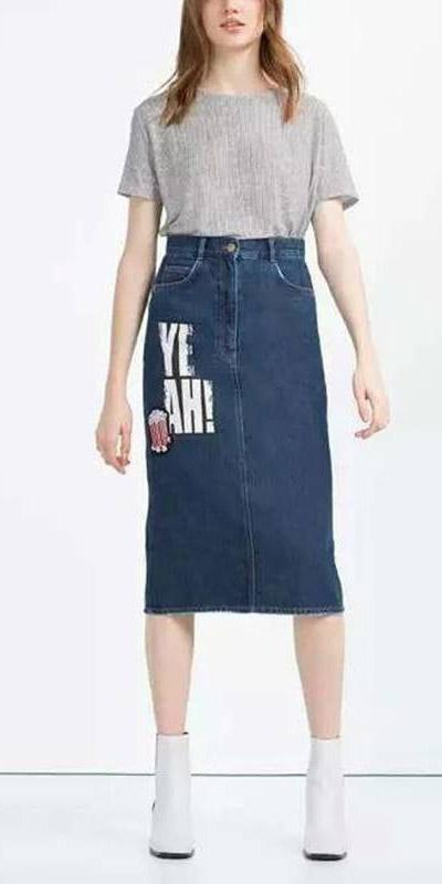 blue-navy-midi-skirt-denim-grayl-tee-white-shoe-booties-spring-summer-hairr-lunch.jpg