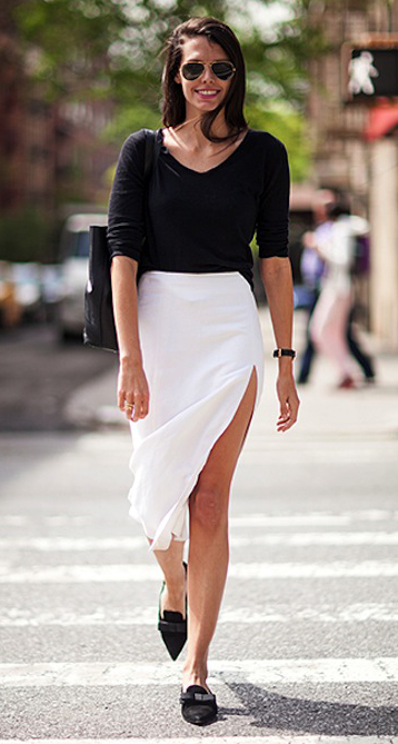 white-midi-skirt-black-tee-black-bag-sun-black-shoe-loafers-howtowear-fashion-style-outfit-spring-summer-brun-lunch.jpg