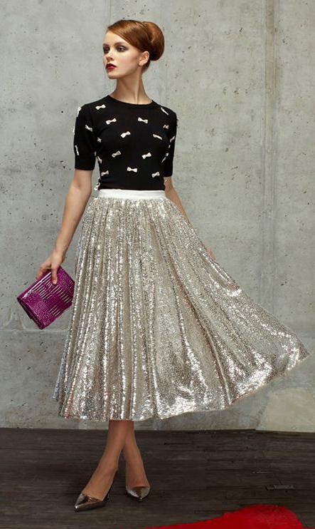 white-midi-skirt-black-sweater-embellished-bun-gray-shoe-pumps-metallic-purple-bag-clutch-wear-outfit-spring-summer-hairr-dinner.jpg