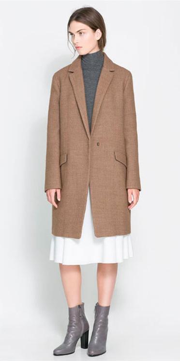 white-midi-skirt-grayd-sweater-camel-jacket-coat-gray-shoe-booties-pony-fall-winter-hairr-lunch.jpg