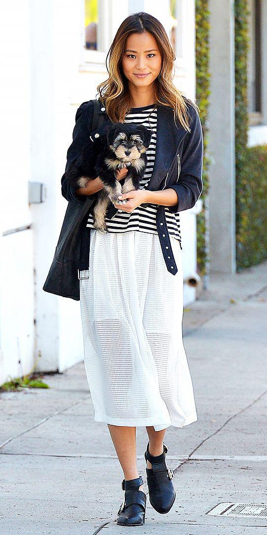 white-midi-skirt-sheer-black-shoe-booties-black-jacket-moto-jamiechung-black-tee-stripe-spring-summer-hairr-weekend.jpg