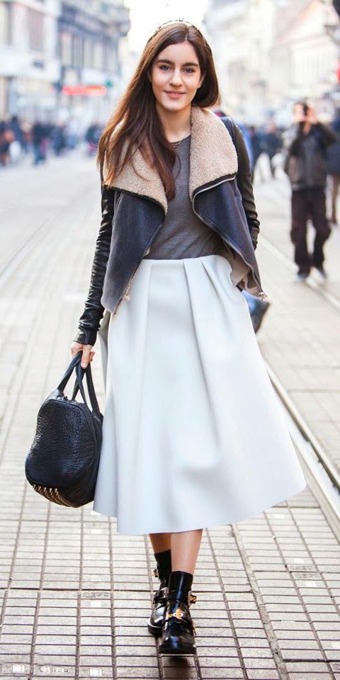 white-midi-skirt-grayd-tee-black-jacket-shearling-black-bag-black-shoe-booties-fall-winter-brun-weekend.jpg
