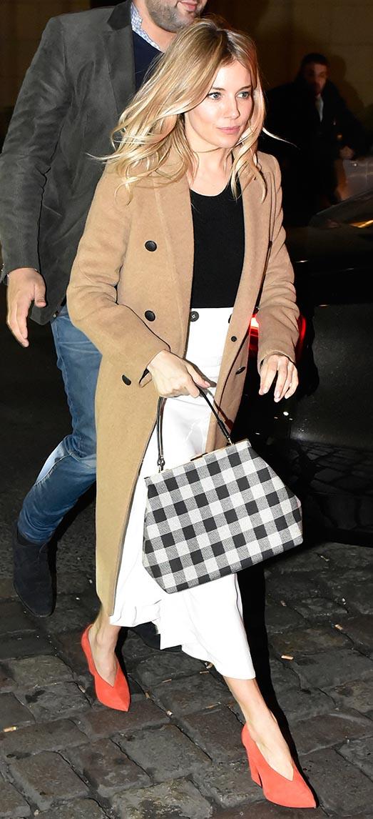 white-midi-skirt-black-tee-camel-jacket-coat-orange-shoe-pumps-siennamiller-fall-winter-blonde-work.jpg