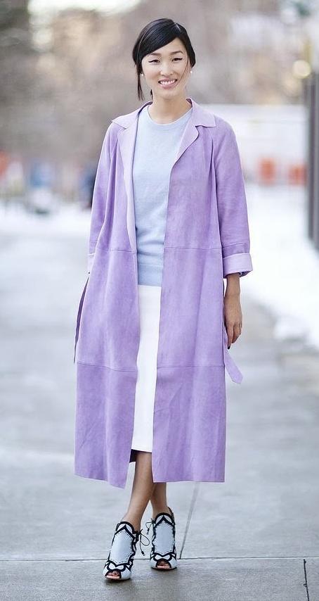 white-midi-skirt-blue-light-sweater-purple-light-jacket-coat-pony-pearl-studs-white-shoe-sandalh-mono-howtowear-fashion-style-outfit-brun-fall-winter-dinner.jpg