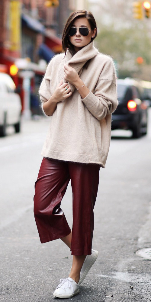 burgundy-culottes-pants-tan-sweater-turtleneck-white-shoe-sneakers-fall-winter-hairr-weekend.jpg