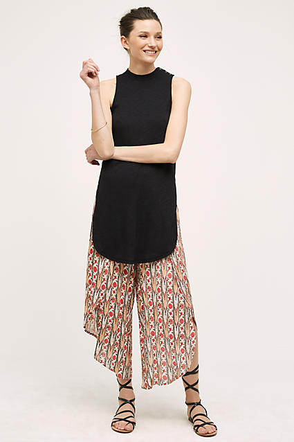 o-tan-culottes-pants-black-top-brun-black-shoe-sandals-bun-spring-summer-style-fashion-wear-gladiators-print-anthropologie-lunch.jpg