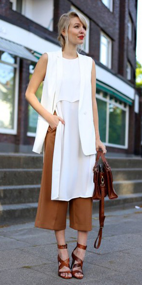o-camel-culottes-pants-white-top-tunic-white-vest-tailor-bun-brown-bag-brown-shoe-sandalh-howtowear-fashion-style-outfit-spring-summer-blonde-lunch.jpg