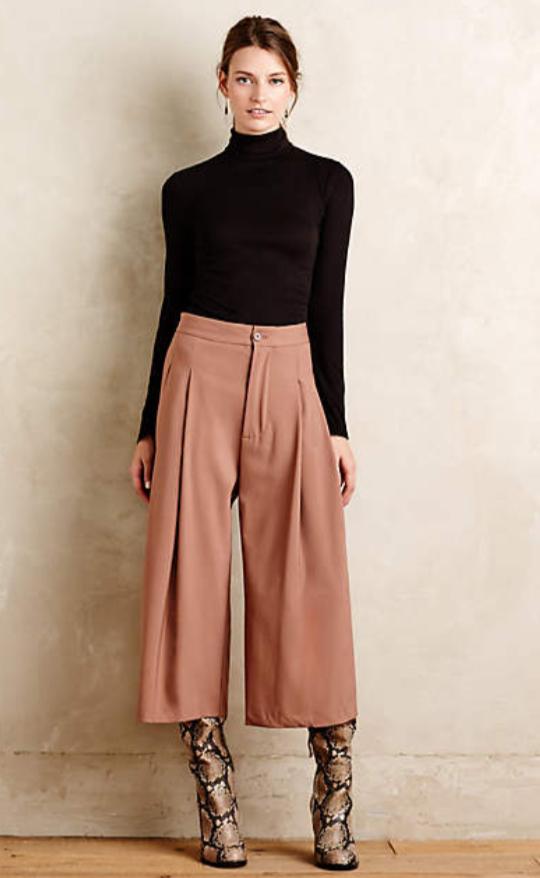 o-camel-culottes-pants-black-sweater-hairr-tan-shoe-booties-fall-winter-style-fashion-wear-snakeskin-turtleneck-earrings-dinner.jpg