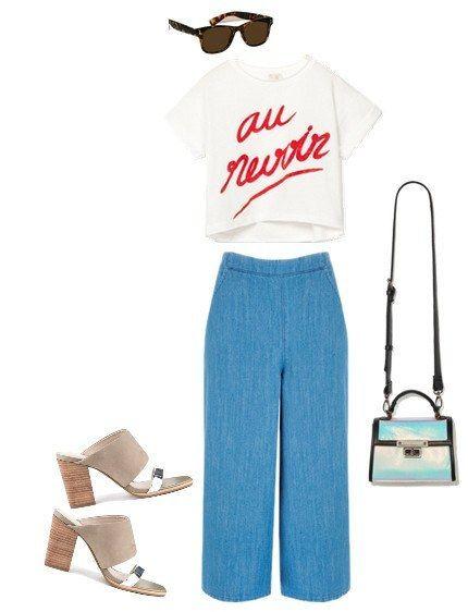 blue-med-culottes-pants-white-graphic-tee-blue-bag-tan-shoe-sandalh-sun-spring-summer-lunch.jpg