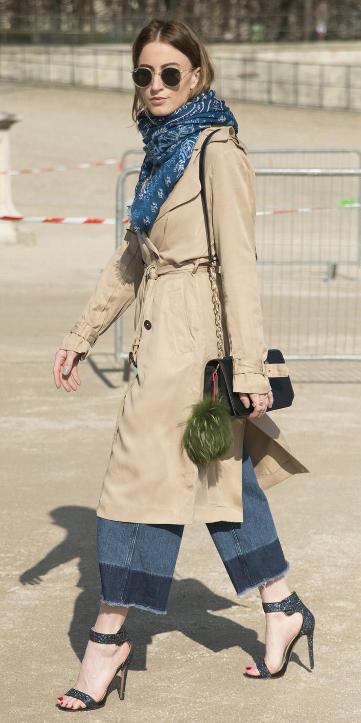 blue-med-culottes-pants-hairr-blue-med-scarf-black-bag-sun-tan-jacket-coat-trench-spring-summer-lunch.jpg