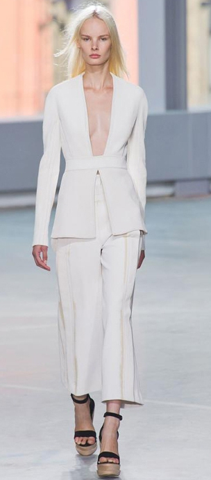 white-culottes-pants-white-jacket-blazer-blonde-black-shoe-sandalw-spring-summer-style-fashion-wear-matching-wedge-runway-lunch.jpg