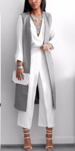 white-culottes-pants-white-top-blouse-bib-necklace-brun--white-bag-clutch-grayl-vest-tailor-white-shoe-sandalh-tonal-fall-winter-dinner.jpg