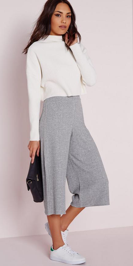 grayl-culottes-pants-ribbed-white-sweater-white-shoe-sneakers-spring-summer-brun-lunch.jpg