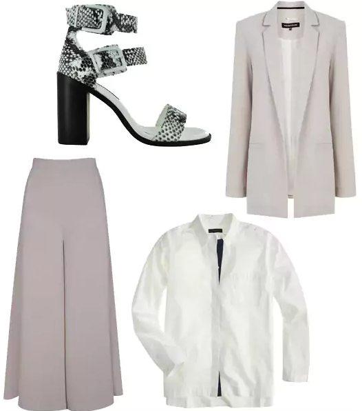 grayl-culottes-pants-white-collared-shirt-grayl-jacket-blazer-white-shoe-sandalh-snakeskin-mono-spring-summer-work.jpg