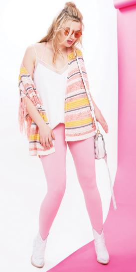 r-pink-light-leggings-white-cami-white-shoe-booties-sun-spring-summer-yellow-cardiganl-stripe-white-bag-blonde-lunch.jpg