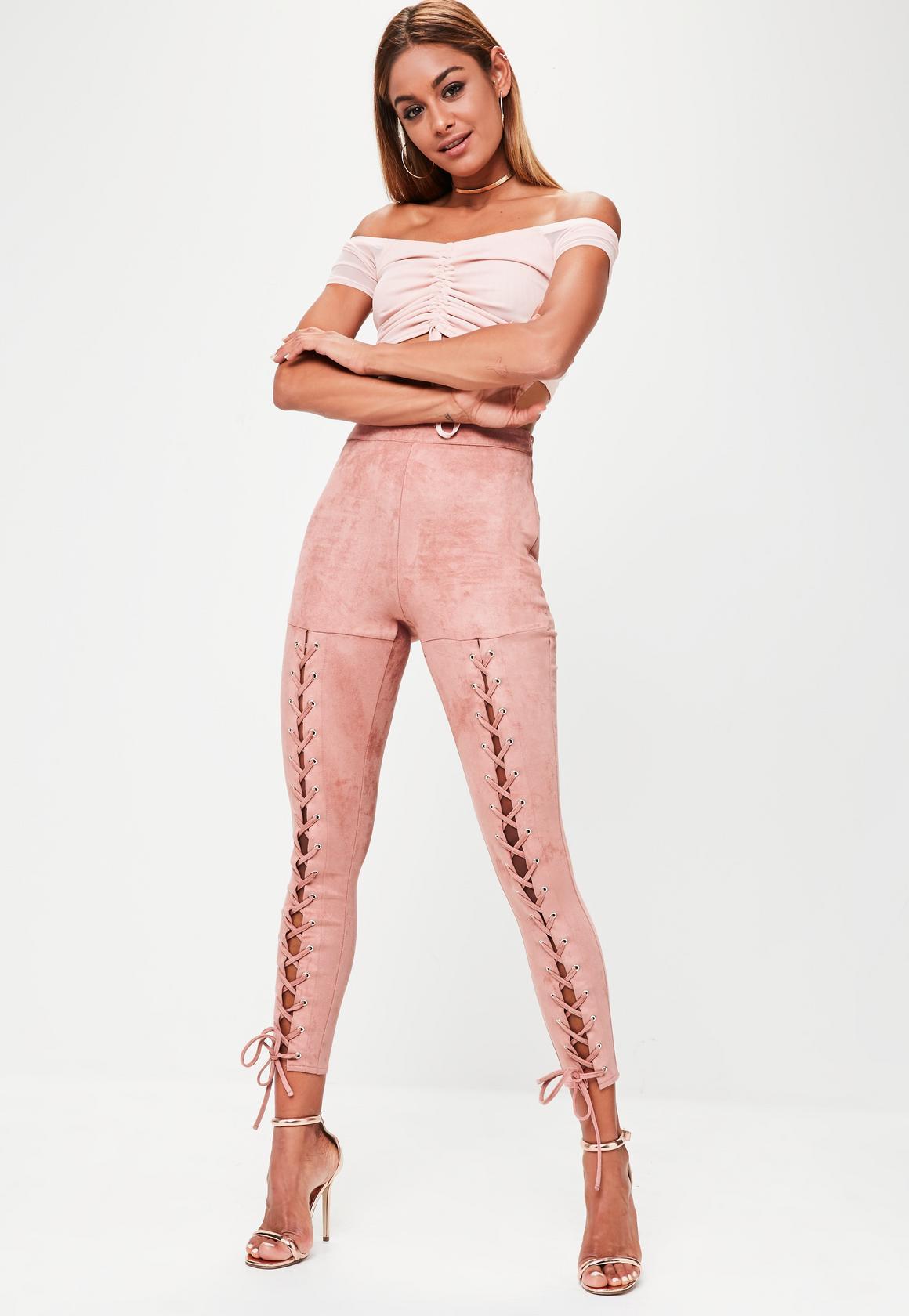 pink-light-leggings-white-crop-top-offshoulder-hoops-spring-summer-hairr-dinner.jpg