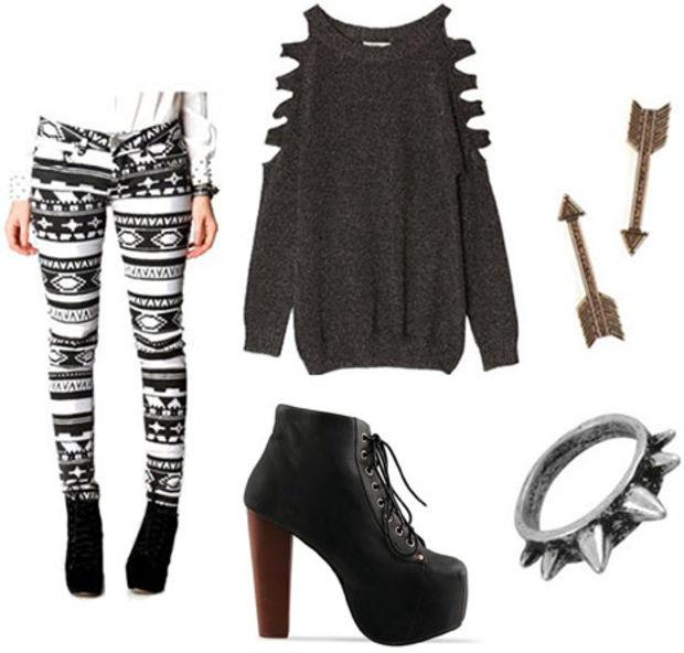white-leggings-zprint-grayd-sweater-black-shoe-booties-ring-earrings-fairisle-wear-outfit-fashion-fall-winter-cutout-dinner.jpg