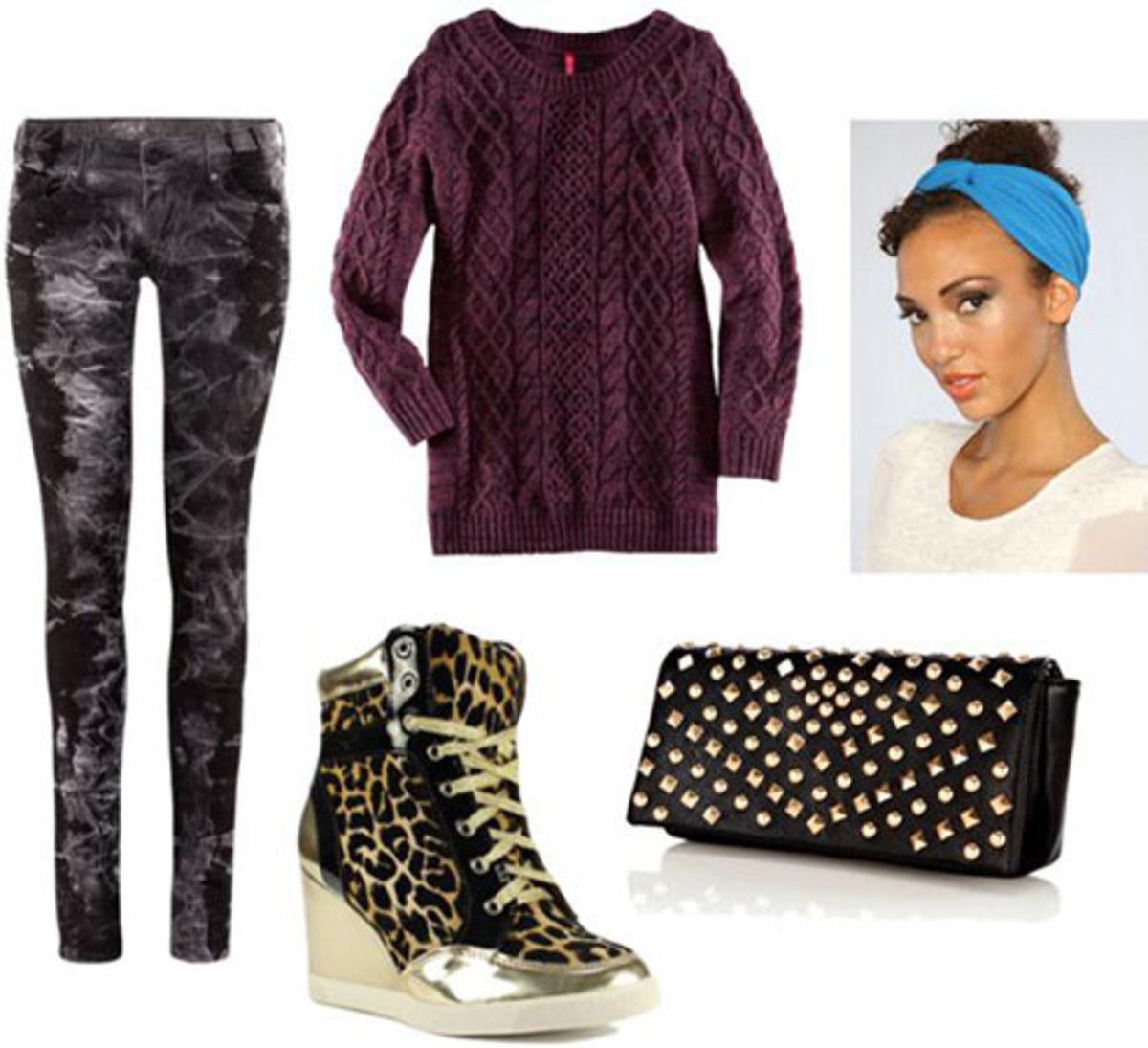 grayd-leggings-purple-royal-sweater-black-bag-clutch-head-tan-shoe-sneakers-leopard-print-fall-winter-weekend.jpg