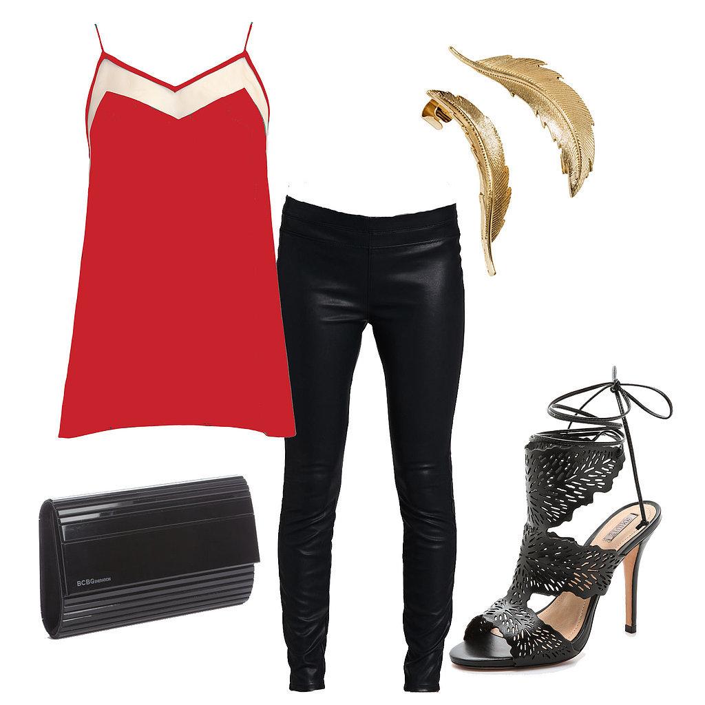 black-leggings-red-cami-black-shoe-sandalh-black-bag-clutch-howtowear-valentinesday-outfit-fall-winter-dinner.jpg